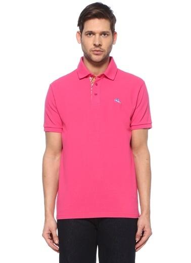 Etro Etro  Logolu Polo Yaka T-shirt 101617999 Pembe
